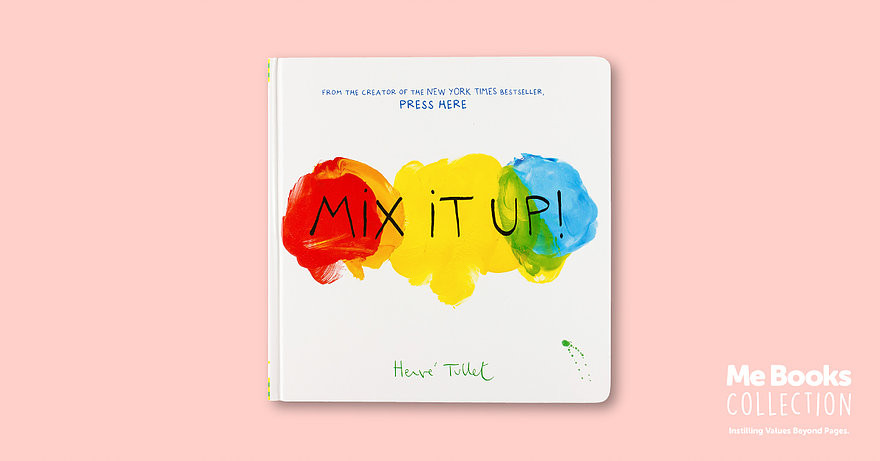Me Books, Mix it Up, Children's Books, Herve Tullet, Book review