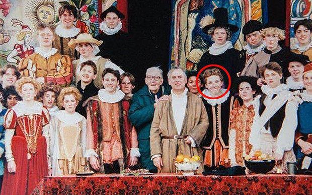 Benedict Cumberbatch during his theatre days