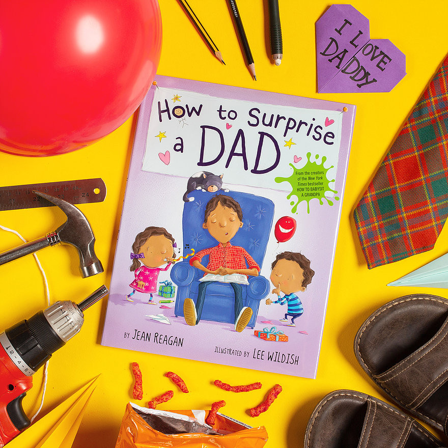 Me Books, Children's Books, How to Surprise a Dad, Jean Reagan, Storytelling, Family