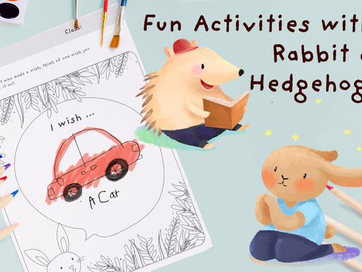 Fun Worksheets for Toddlers with 'Rabbit's Wish' by Paul Stewart and Chris Riddell