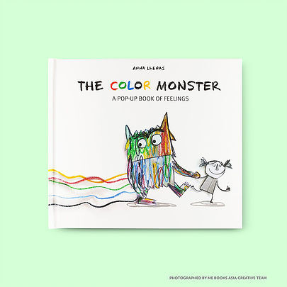 Me Books, The Colour Monster, Anna Llenas, Children's Books