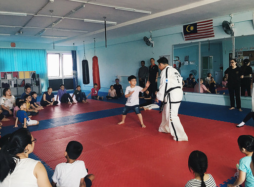 April Townhall: Kids' Self Defence 101