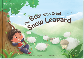 The Boy Who Cried Snow Leopard Aesopica Children's Book