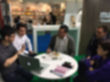 From Left : Evan Yan, Hao Jin, Eric Huang (Made in Me Development Director), James Huggins (Made in Me Managing Director) & Stephanie Chooi (COO, University Book Store Malaysia)