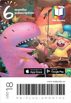 Me Books Subscription 6 months app card