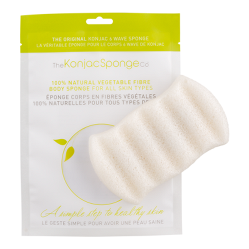 The Konjac Sponge Company 6 Wave 100% Pure Body Sponge