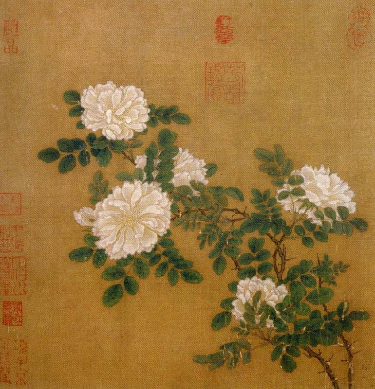 Ма Юань. Белые розы.