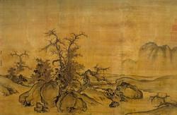 Го Си. Каменистая равнина и далёкий горизонт.jpg