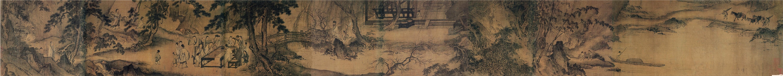 Ма Юань. Сочинение стихов в весеннем лесу