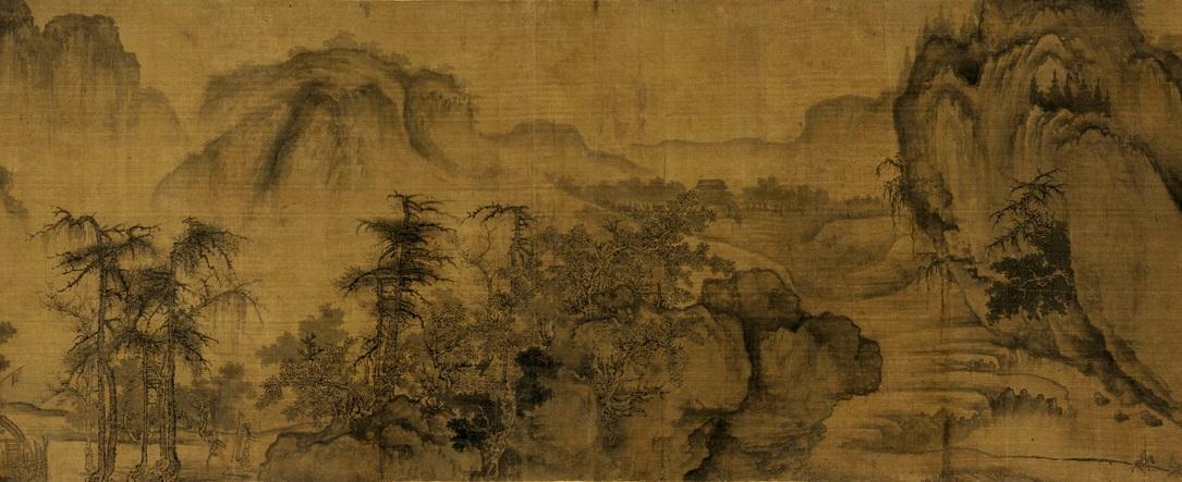 Го Си. Осень в долине реки. Фрагмент свитка..jpg