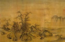 Го Си. Каменистая равнина и далёкий горизонт2jpg.jpg