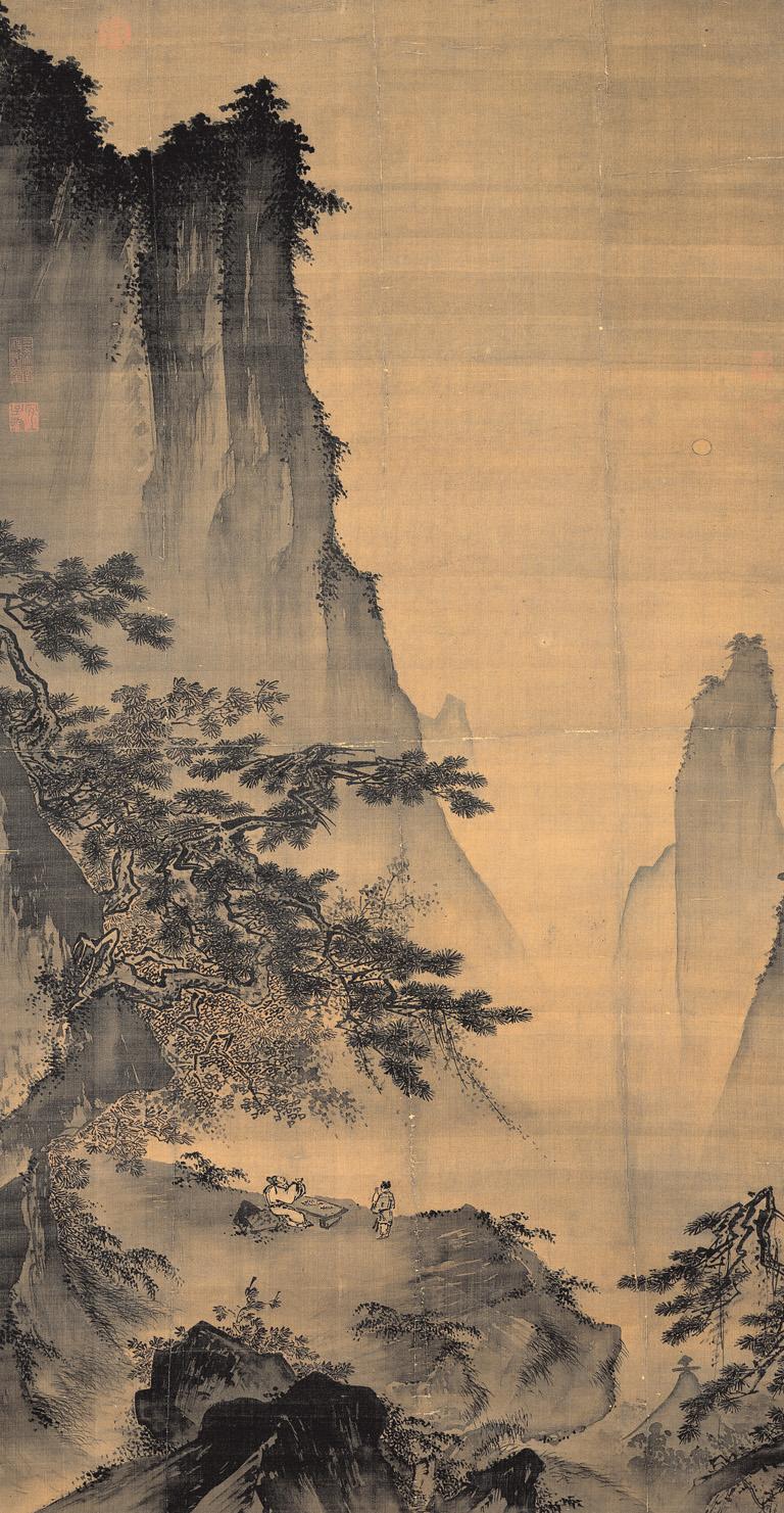 Ма Юань. Созерцание луны.