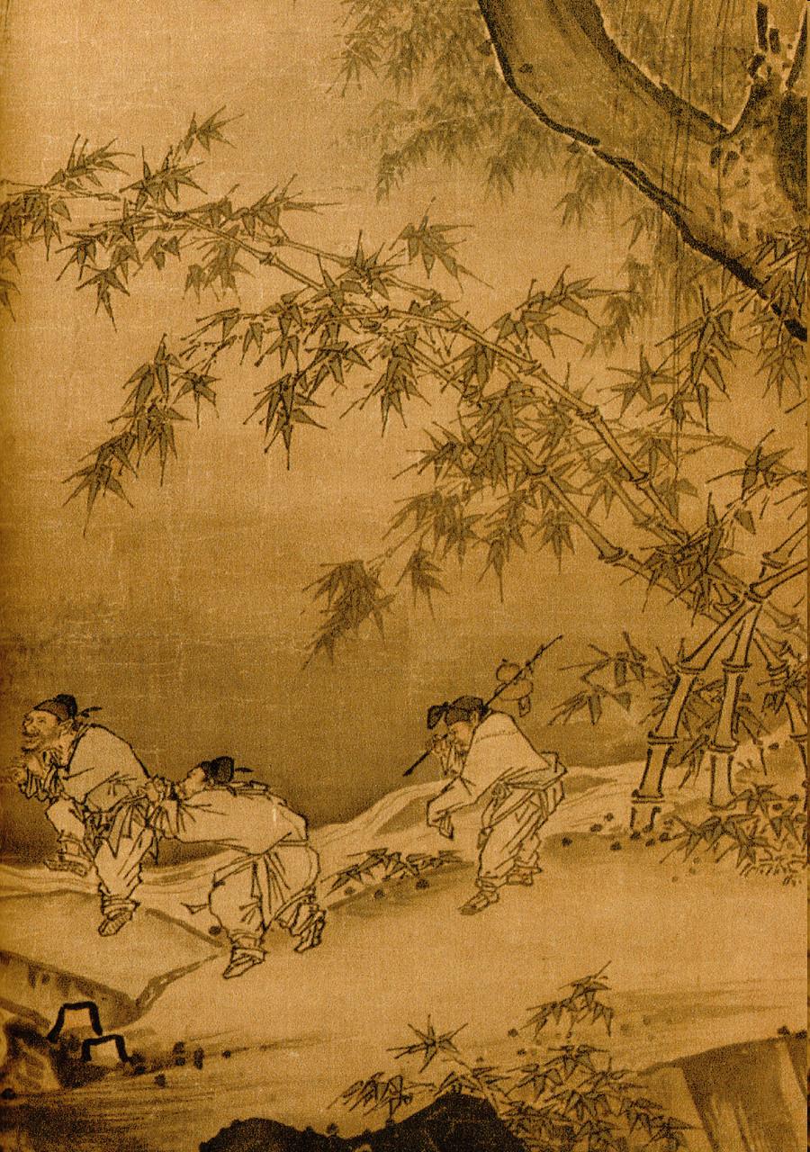 Ма Юань. Танцы и песни. (2)