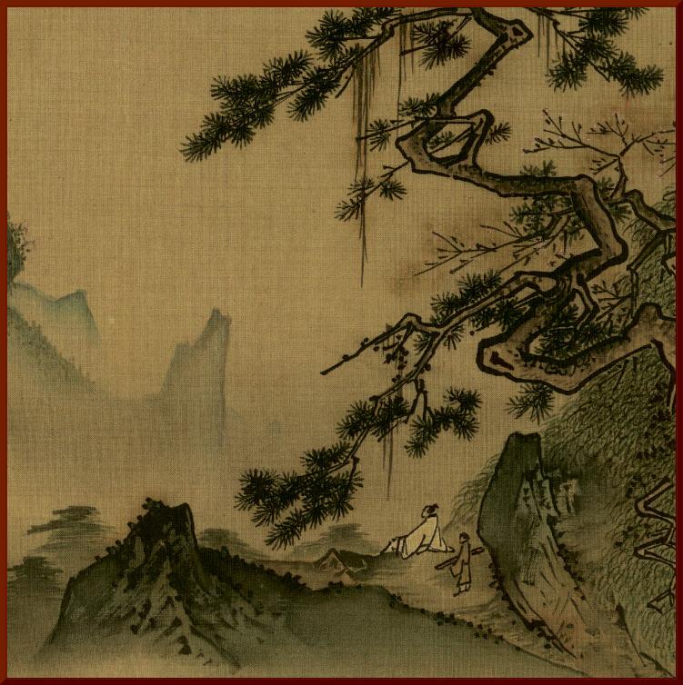 Ма Юань. Лунная ночь.