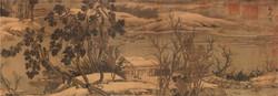 Гао Кэмин Горы и потоки в первом снеге 2.jpg
