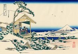 «Снежное утро на реке Коисикава»