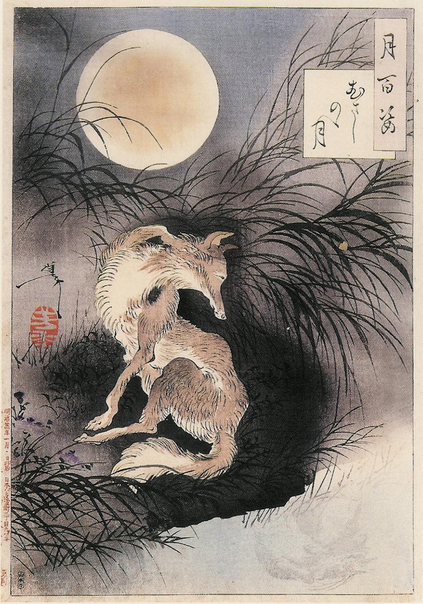 Луна равнины Мусаси. Оборотень.