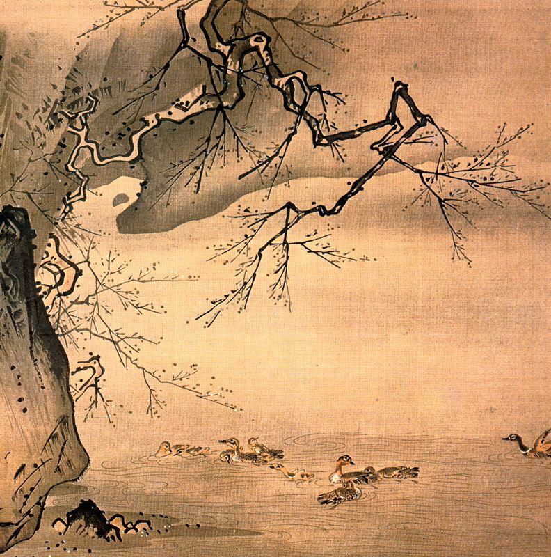 Ма Юань. Утки, скала и мэйхуа.