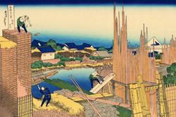 «Река Татэкава в Хондзё»