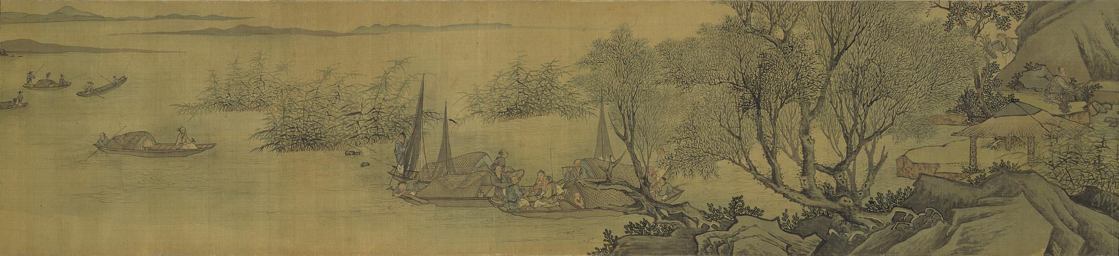 Ма Юань. Жизнь на реке.