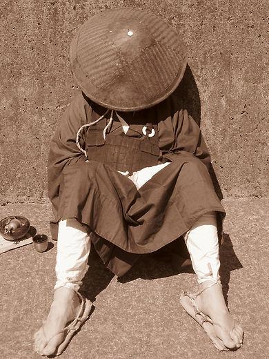 дзэнский монах Манк Ху