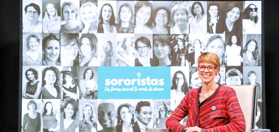 Laura Carpentier-Goffre, lauréate du prix Sororistas