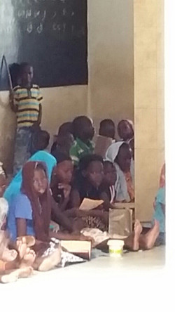 CNP children waiting for lunch_