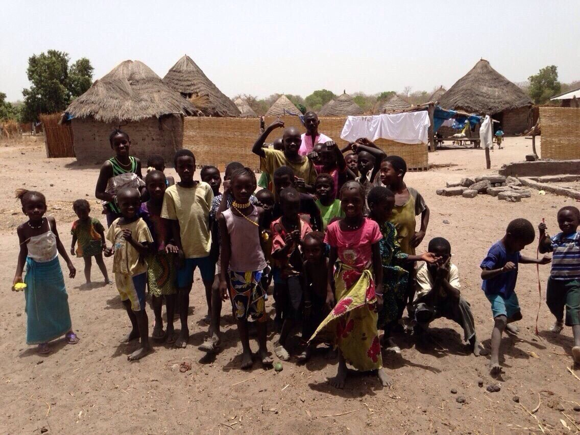 Children in Kahone, Senegal_