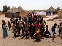 Children in Kahone, Senegal_