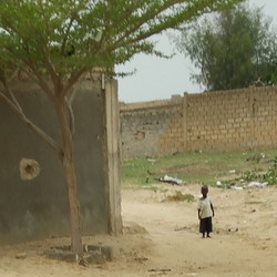 A child of Cisse Niass Project in Kahone, Senegal