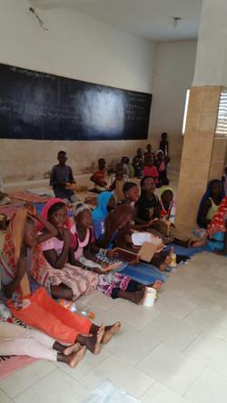 Children waiting for class_