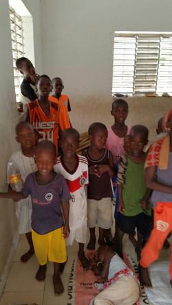 CNP children in their small school_