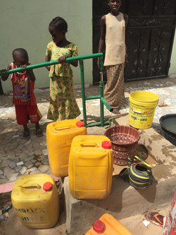 We are providing water to community