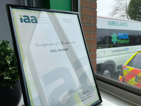 Now Members of the Independent Ambulance Association