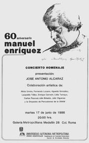 60 aniversario | Manuel Enríquez