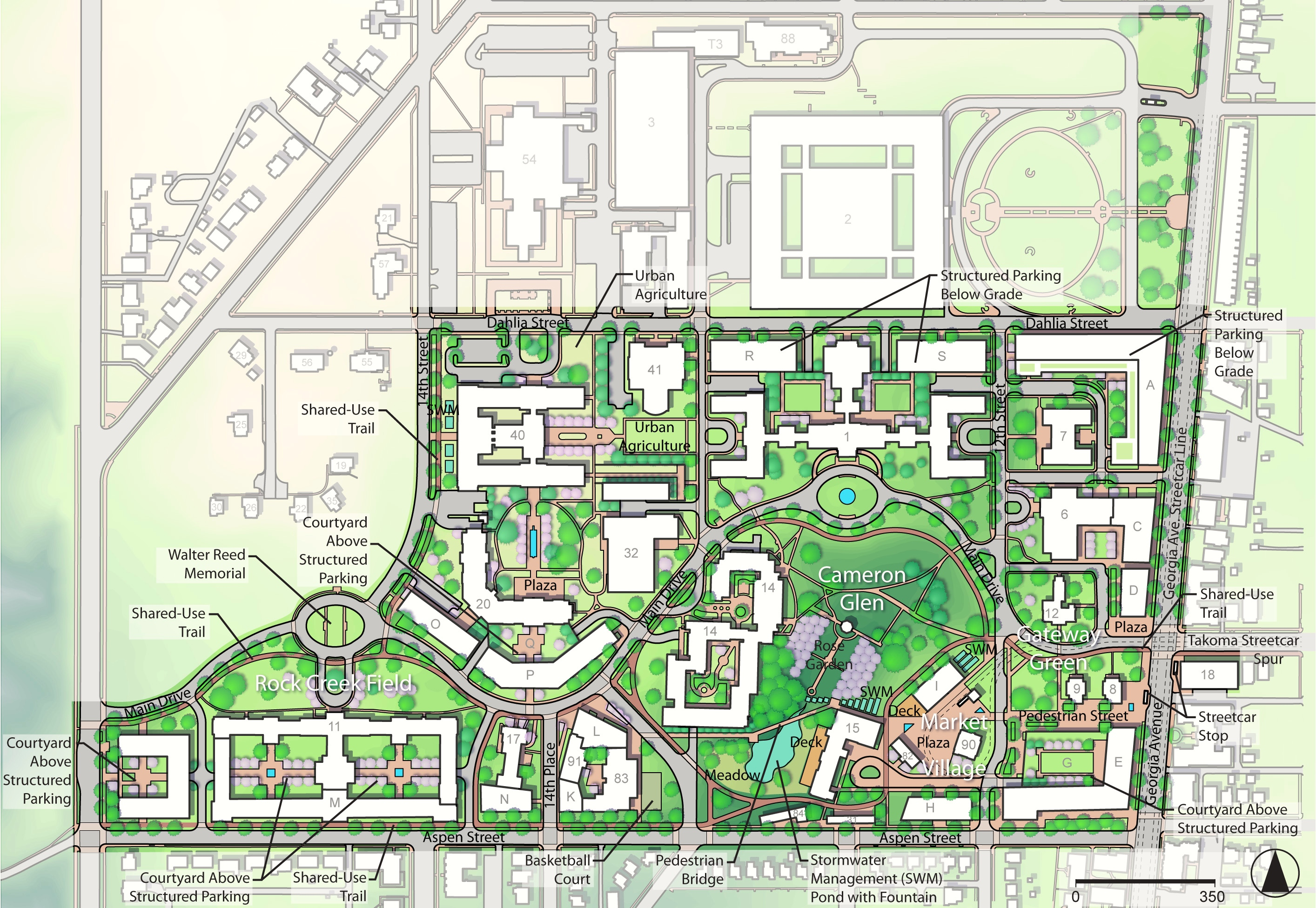 Walter Reed BRAC ReUse Plan