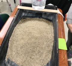 4th Grade - Erosion Table Pictures