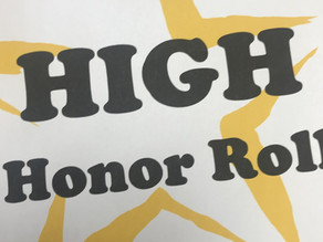 1st Trimester Honor and High Honor Roll
