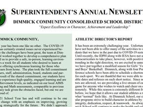 Superintendent Newsletter