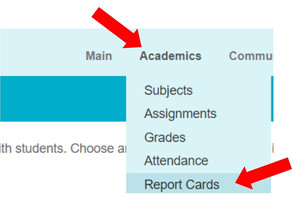How to View Report Cards in Teacher-Ease