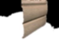 Сайдинг Тимберблок ясень золотистый