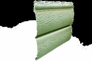 Сайдинг Тимберблок ясень прованс зеленый