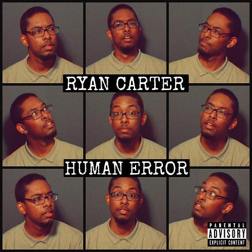 Ryan Carter - HUMAN ERROR - Album Artwork