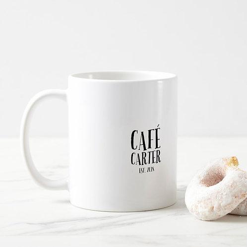 Café Carter Mug