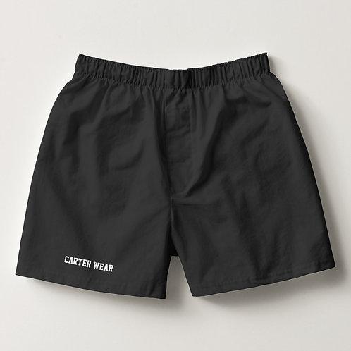 Cotton Boxer Front - Black