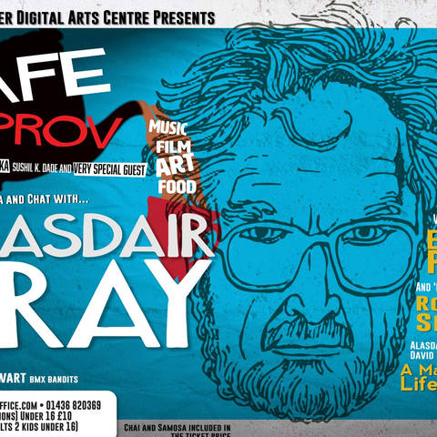 Alisdair Gray Live from heaven
