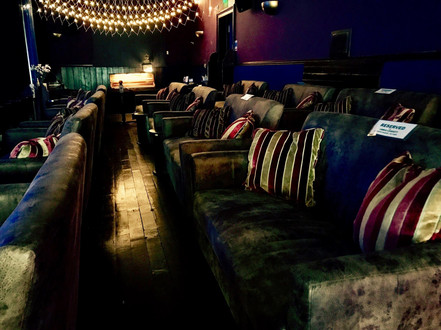 Sofas at the back