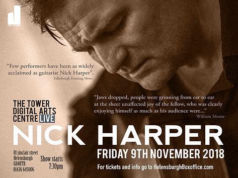 Nick Harper Advert