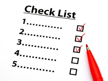Чек-лист для планирования проекта АК