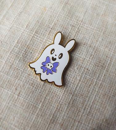 Boo Bunny Enamel Pin